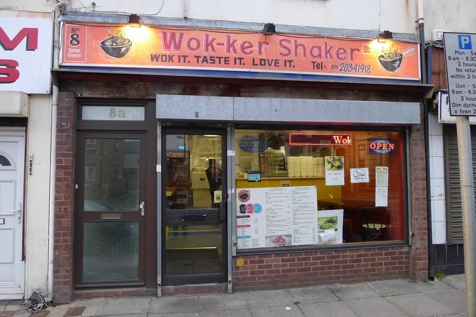 the phrase cheap and cheerful could easily have been coined especially for wok ker shaker a noodle bar and malaysian cafe located on cardiffs tudor