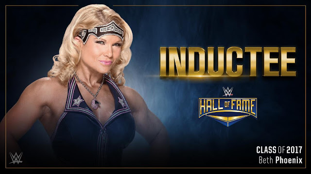 """The Glamazon"" Beth Phoenix to be Inducted into WWE Hall of Fame 2017"