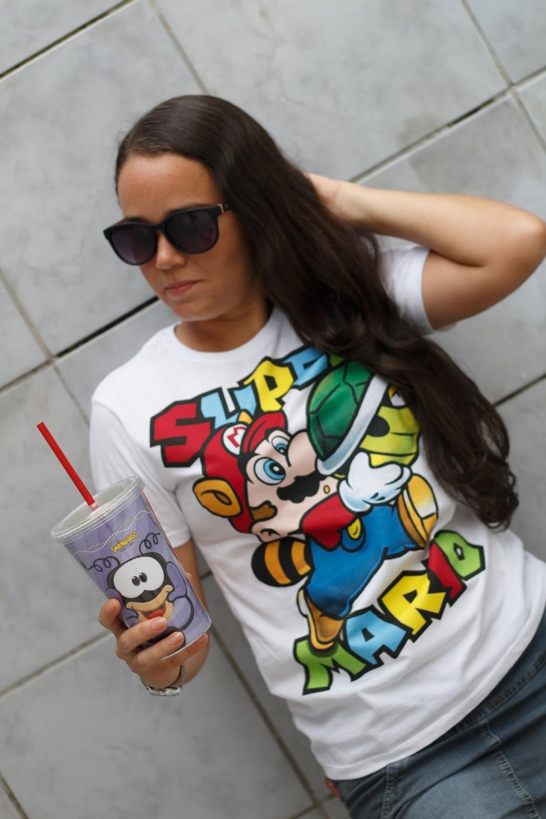 Look Riachuelo  Coleção Super Mario Bros  6f8ac3bbddc