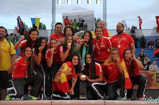 BALONMANO PLAYA - Las españolas destronan a Brasil y son campeonas del mundo
