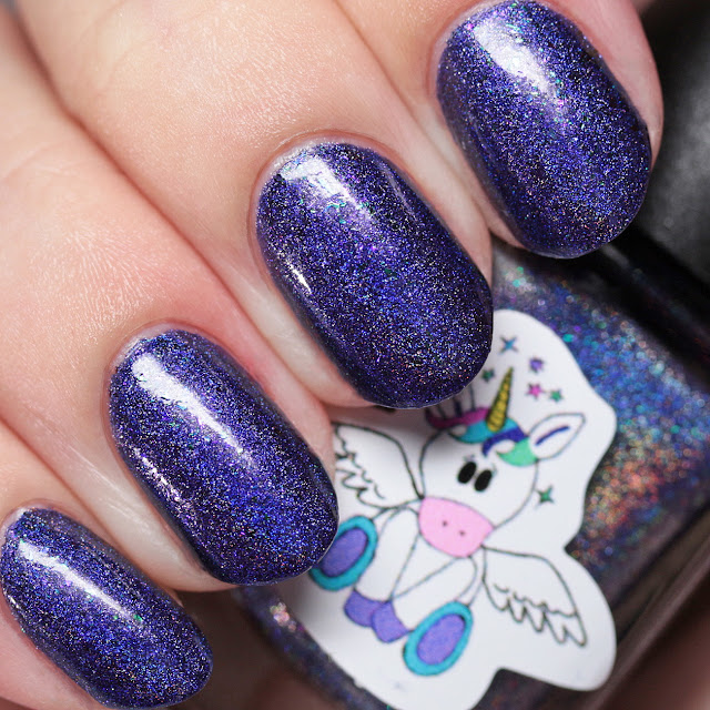 Grace-full Nail Polish Mystical Midnight