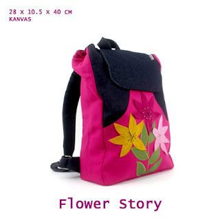 tas ransel kanvas, tas ransel anak, tas sekolah lucu, agen tas bogor