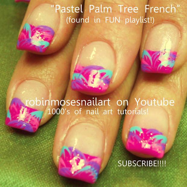 nail art robin moses