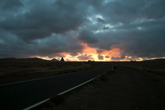Tramonto a Corralejo-Fuerteventura