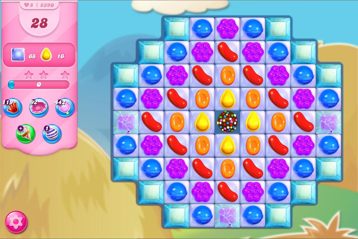 Candy Crush Saga level 5390