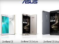 Inilah 5 Varian Dari Asus Zenfone 3