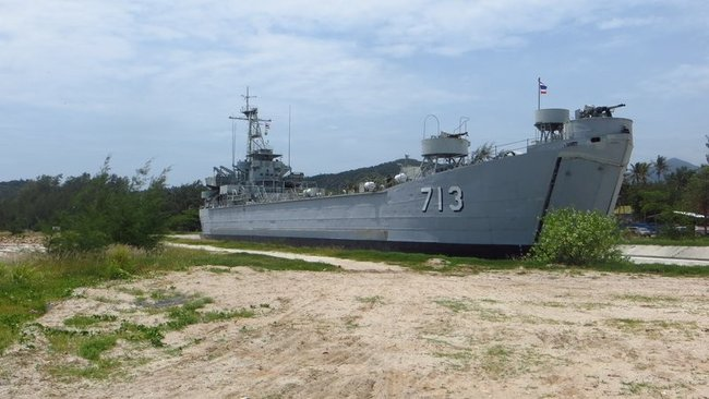 Военный корабль Таиланд памятник