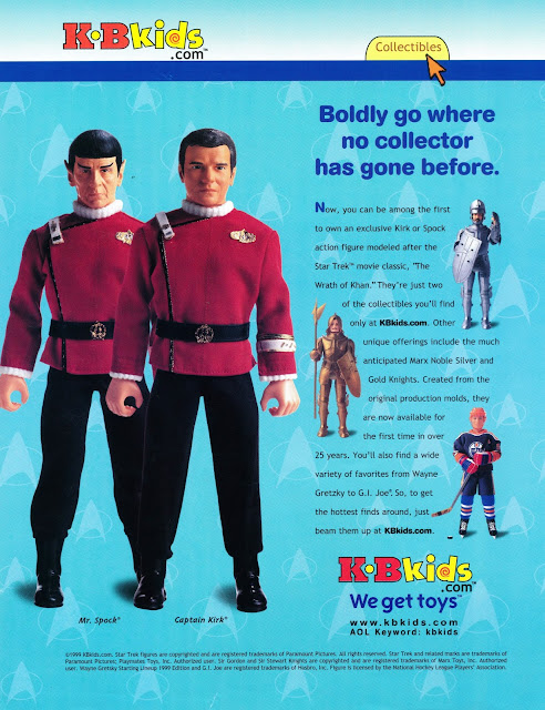 Star Trek Playmates 12 Inch Action Figure Wrath Of Khan