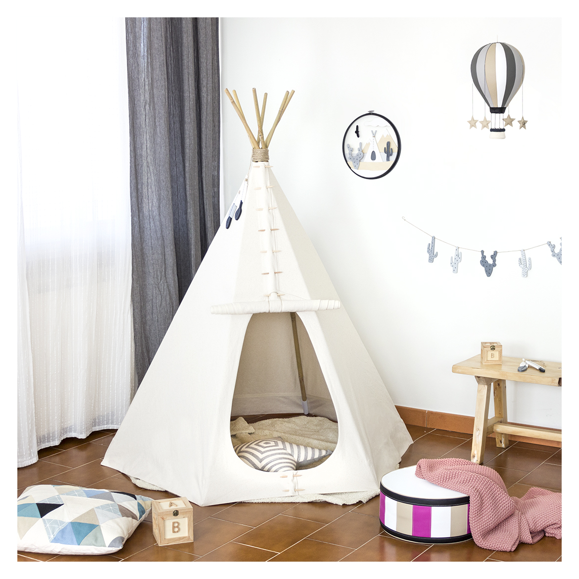 Jo handmade design: The Teepee, indian tent for children, made by me ...