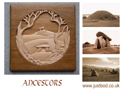 Ancestors woodcarving from Justbod