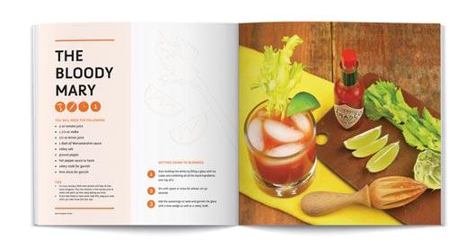 recipe layout design