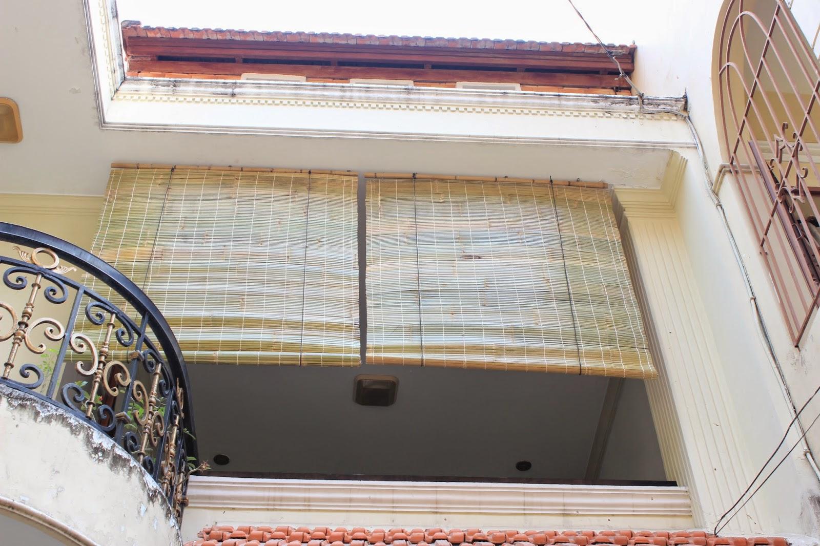 rèm tre trúc ngoài ban công Quận Tân Phú