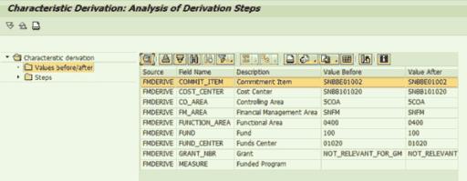 SAP FM: Analizar estrategias de derivación