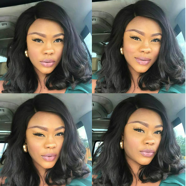 Daniella Okeke looks flawless as actress shares makeup selfies