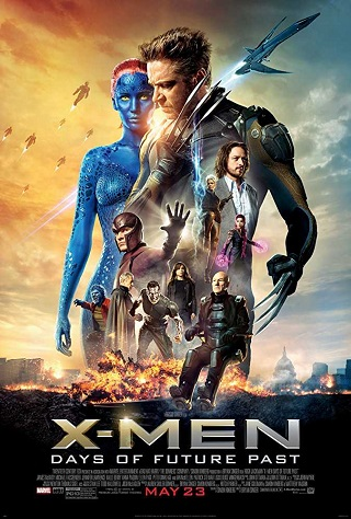 X Men Days of Future Past 2014 Dual Audio Hindi 350MB BluRay 480p