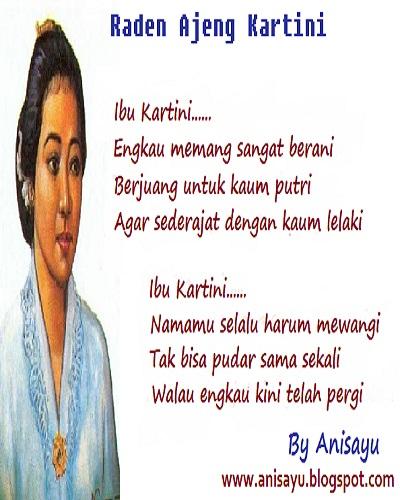 Puisi Ibu Kartini 3 Bait