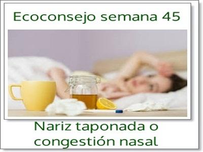 Remedios caseros para el resfriado nasal