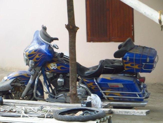 Фотография интересного мотоцикла Таиланд