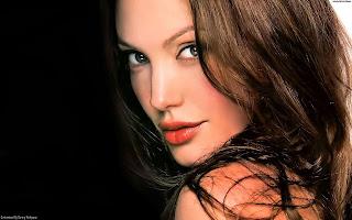 Sexy actress Angelina Jolie