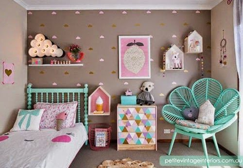 Decora o de quarto infantil inspira o de blogs gringos for Cuartos decorados kawaii