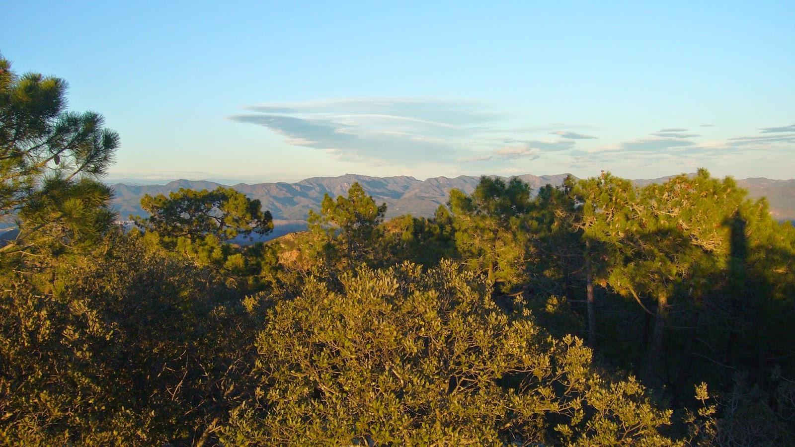 Sierra de Espadán desde el Gorgo, Gátova.