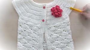 Bolero Crochet para bebés y niñas / Tutorial