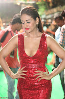 Parul Yadav in Sleeveless Deep Neck Red Gown at IIFA Utsavam Awards March 2017 046.JPG