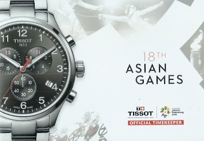 Tissot sebagai official timekeeper Asian Games 2018