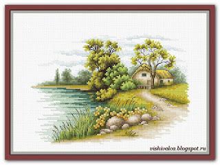 "Luca-S B2283 ""Пейзаж с озером"""