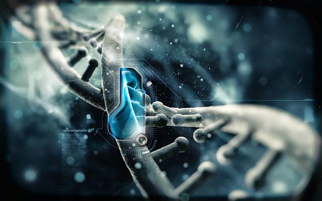 DNA, o código genético que determina todas as funções dos organismos vivos, desde a sua concepção até a morte é claramente produto de inteligência racional, não de mero acaso da natureza