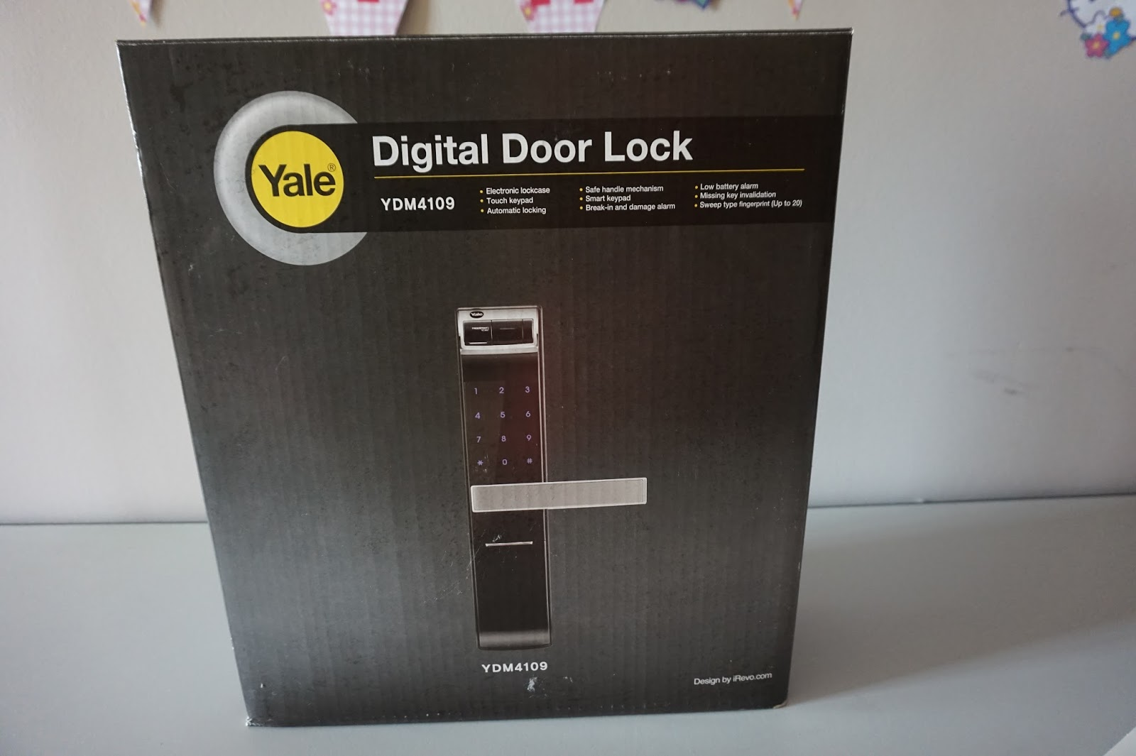 MS LEONG JOANNE: Yale YDM 4109 Digital Door Lock