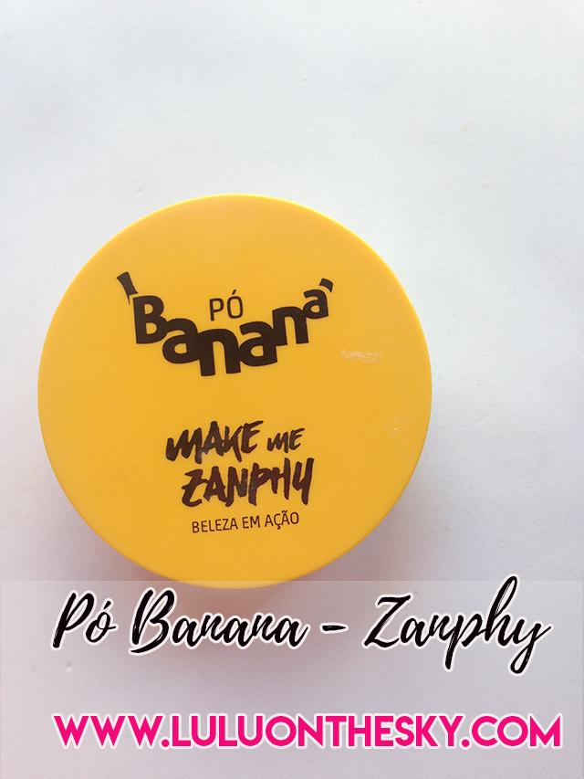 Pó Banana Zanphy
