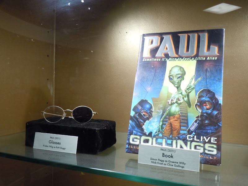 Paul movie props