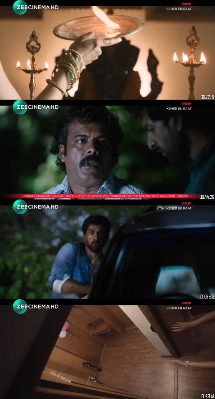 Kaher Ek Raat 2019 Hindi Dubbed 720p 480p Full Movie Download