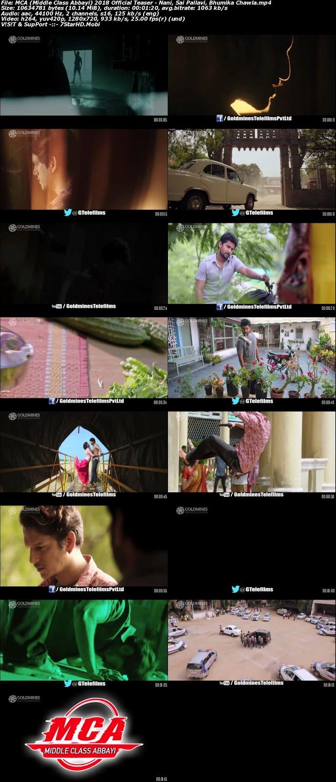 MCA (Middle Class Abbayi) 2018 Hindi Official Teaser 720p HD Dwonload 2