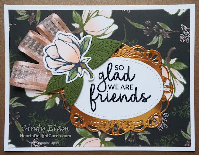 Heart's Delight Cards, Good Morning Magnolia, Friendship, 2019-2020 Annual Catalog, Stampin' Up!