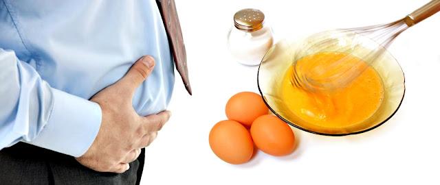 Flatulencias pedos comer huevos