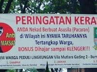 Waduh... Berani Pacaran di Tempat Ini Harus Siap Resikonya, Selamat Datang di Bekasi