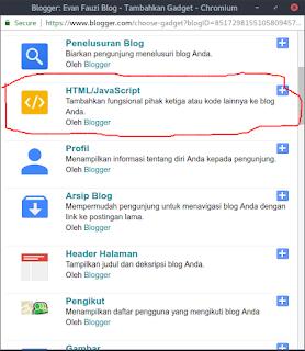 Klik HTML/Javascript