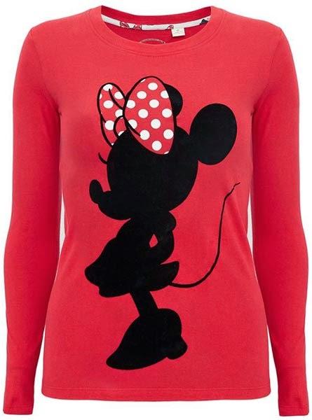 Top de pijama con print de Minnie para mujer