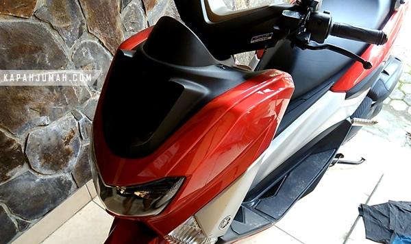 Cara Membuka Cover Depan Yamaha NMax
