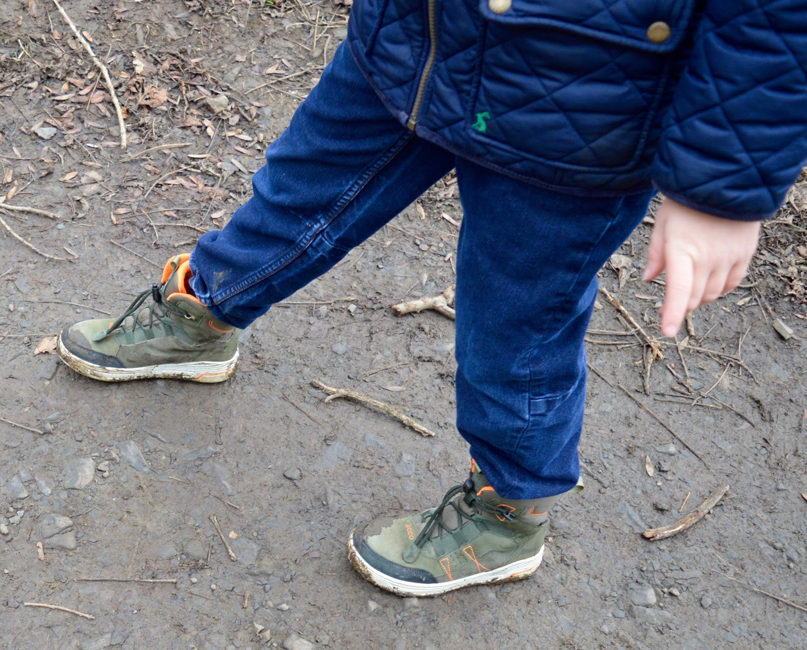 Our Visit to Plessey Woods - A FREE day out in Northumberland. It was very muddy and the perfect chance for Harry to put his GORE-TEX shoes through their paces - GORE-TEX shoes in mud
