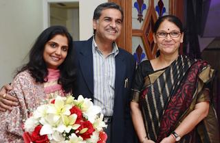 Miss Anu Navani, Mr Dhiraj Navani, Dr Anjan Prakash