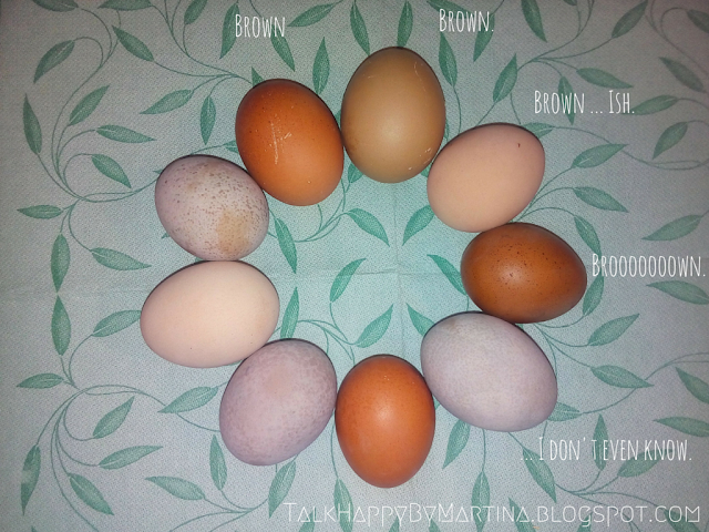 Easter eggs using natural dyes. || talkhappybymartina.blogspot.com