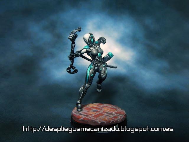 imagen de un ninja con arco táctico del juego Infinity