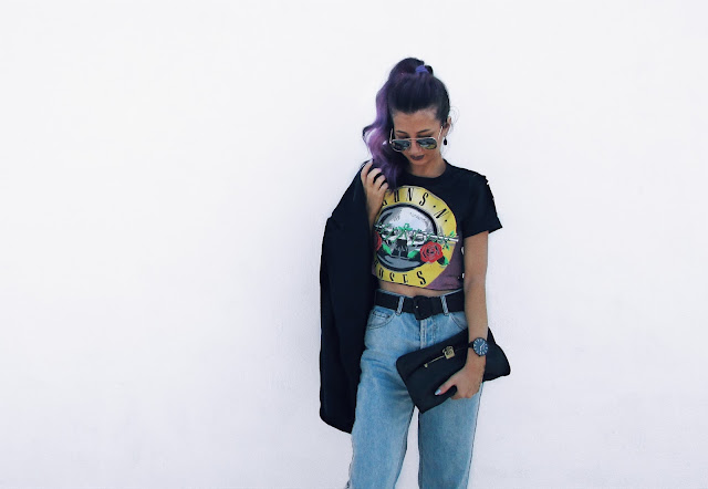 how to style band tee