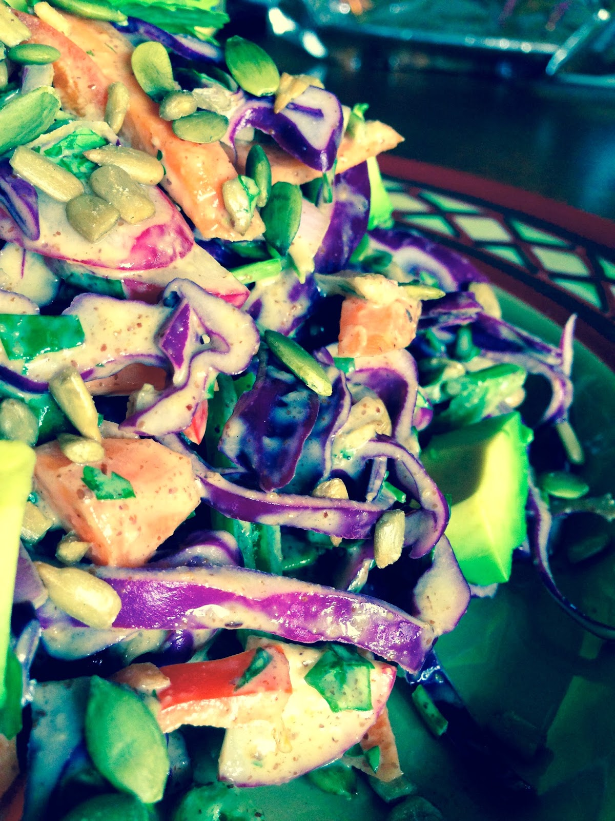 Kitchen Sink Salad by BeautyBeyondBones #glutenfree #grainfree #vegan #paleo #vegetarian #food #dinner #edrecovery