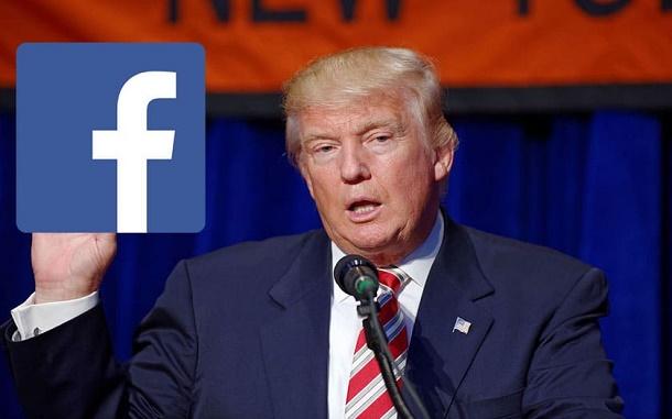 قرار مثير للجدل من فيسبوك يثير امتعاض ترامب
