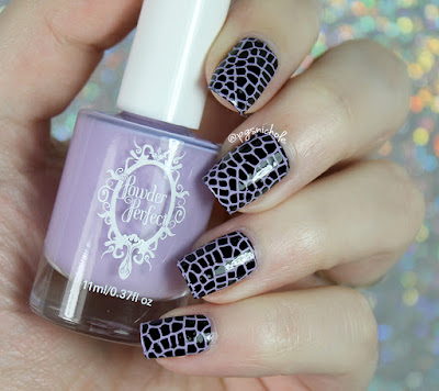 Powder Perfect Lilac Stamping Polish