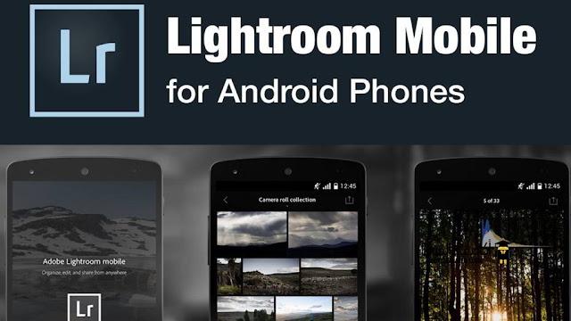 تطبيق Adobe Photoshop Lightroom